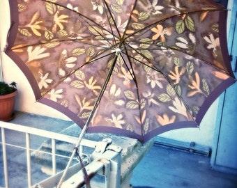 Vintage Umbrella, umbrella vintage 50s - parasol