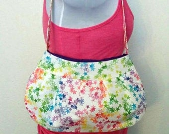 Colorful Star Purse