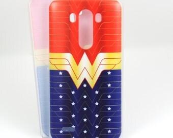 Wonder Woman case for LG G4/G3/G2 - Amazon Princess Superhero