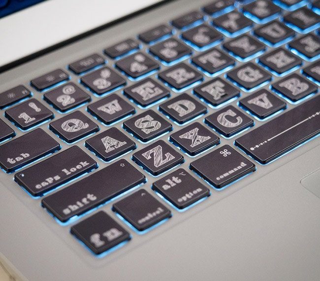 how to clean macbook pro keyboard sticky keys