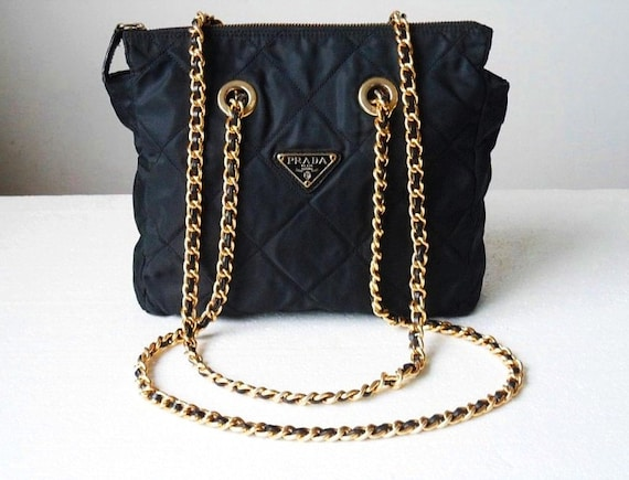 prada chain strap bag