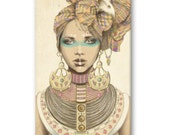 UNIQUE piece of art for collection Marisa Jimenez phone/ipad/tablet case original illustration design customised perfect gift for Christmas