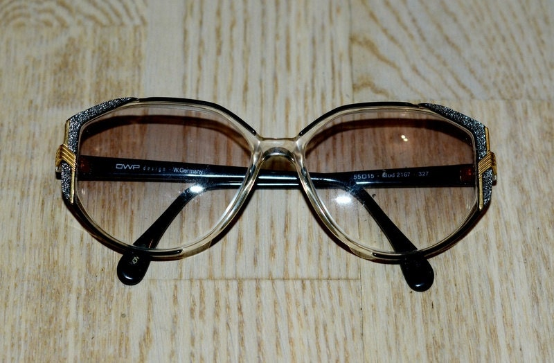 Glasses Frames Germany : Vintage OWP eyewear West Germany from 80s by VintageButikGita