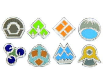 Pokemon Badges Gen 4 - Sinnoh League