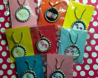 My Lil Pony 15 Qty Party Favor Necklaces My Lil Pony Party My Lil Pony Favor Girls Party Favor My Lil Pony Party Girls Pony Party Girl Party