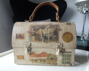 Vintage lunch box.