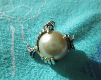 Vintage Beau Fish Charm with Original Jump Ring