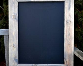 "Set of 2 Rustic Chalkboards 24""x30"",  Rustic Chalkboard, Reclaimed Wood, Rustic Wedding, Menu Board, blackboard, playroom"