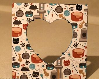 Cat /Feline /Kitten /Paws/ Pet Picture frame