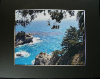 SEASCAPE Cubicle Wall Decor created by Pam Ponsart of Pam's Fab Photos featuring the Central California Coast at Big Sur