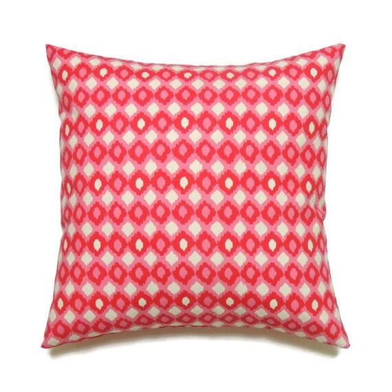 Pink Pillow Cover 20x20 Pillow Accent Throw by ThePillowToss