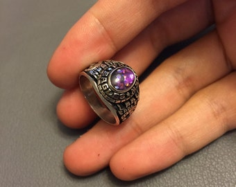 Vintage sterling silver ring, size 7