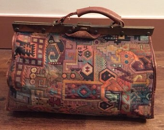 Smithsonian Institution tapestry doctors tote