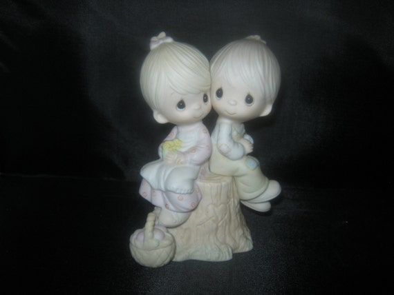 "Johnathon And David ""Love One Another"" Figurine, 1976"