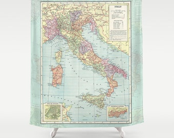 Items similar to Artistic Shower Curtains by DiaNoche