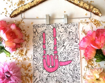 Original Breast Cancer Artwork - Breast Cancer Awareness