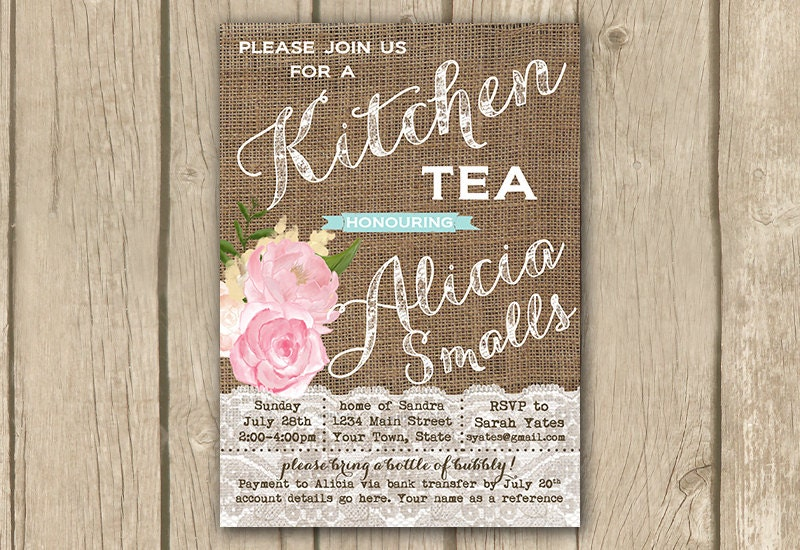 Wedding Shower Invitations Etsy with good invitations template