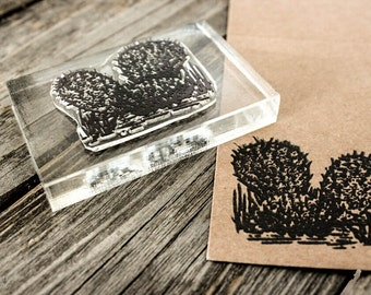 Blooming Desert Rubber Stamps 90
