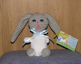Billy the Bunny - Stuffed Crocheted Bunny