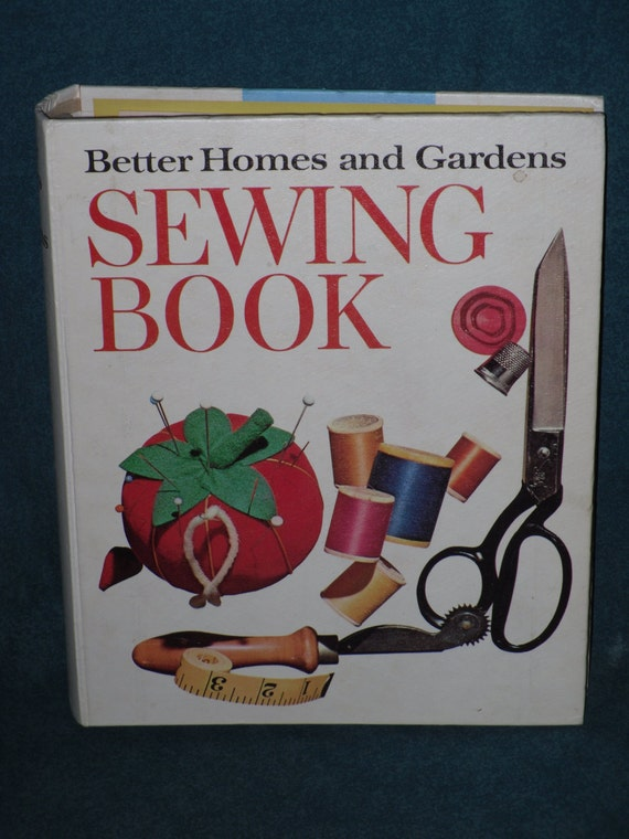 Items Similar To Better Homes And Gardens Sewing Book