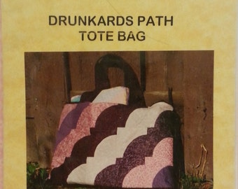 A Sew Together Pattern - Drunkards Path Tote Bag