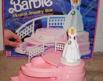 1991 Barbie Musical Jewelry Box