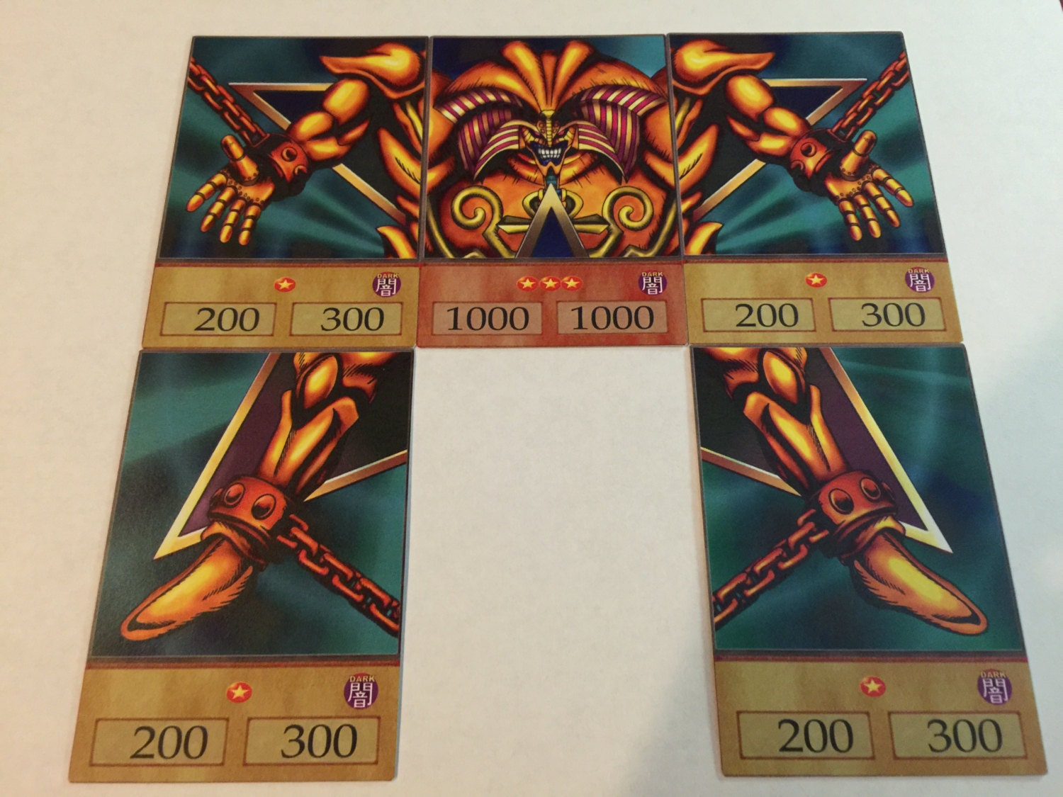 Uncategorized Exodia The Forbidden One yugioh anime style orica exodia the forbidden one set