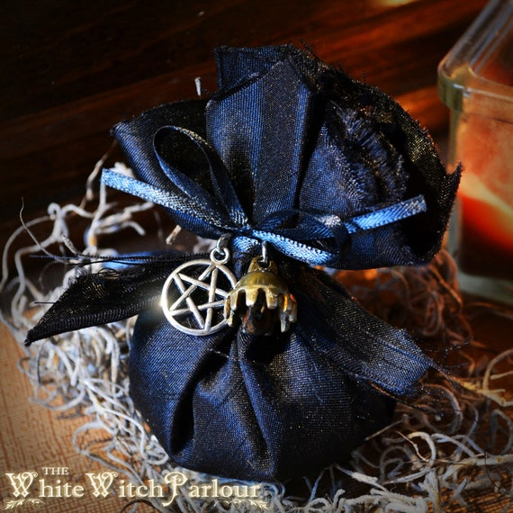 Protection Spirit Bag Crystal Blessed Herbal Remedy Mojo