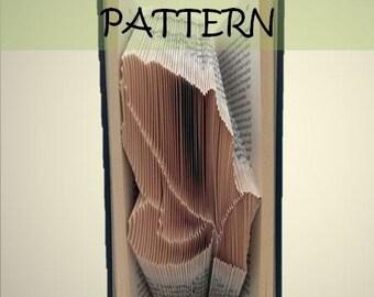 Book folding Pattern: PRAYING HANDS design (including instructions) – DIY gift – Papercraft Tutorial