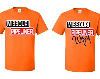 Missouri Pipeliner T-Shirt Set (Pipeliner, Missouri Pipeliner, Texas Pipeliner, North Dakota Pipeliner