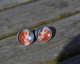 Disney Lady and the Tramp earrings