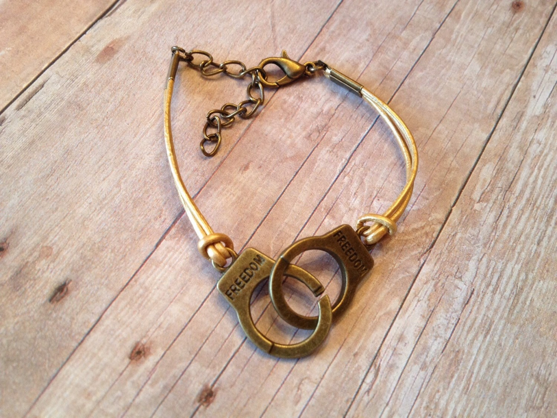 gold freedom bracelet