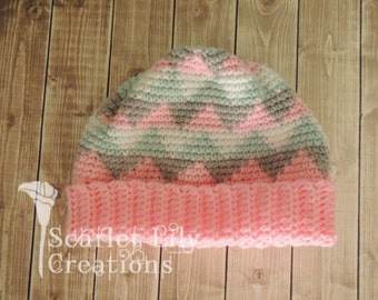 Navajo Crochet Hat - Child size only