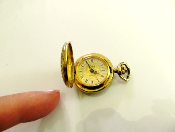Steampunk Rare Lady S Roman Numeral Colibel Gold By