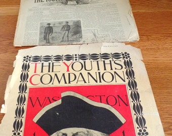 February 9, 1882, The Youth's Companion.  Perry Mason Publishers.