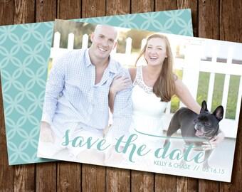 Custom Photo Save the Dates