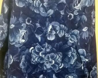 Floral pimp 1970s  Shirt,Men's
