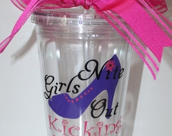 Personalized Girls Nite Out Tumbler