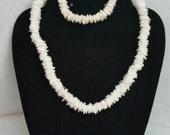 White Seashells Jewerly Set!!!