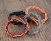 Cool Mystery Braid Leather Bracelet