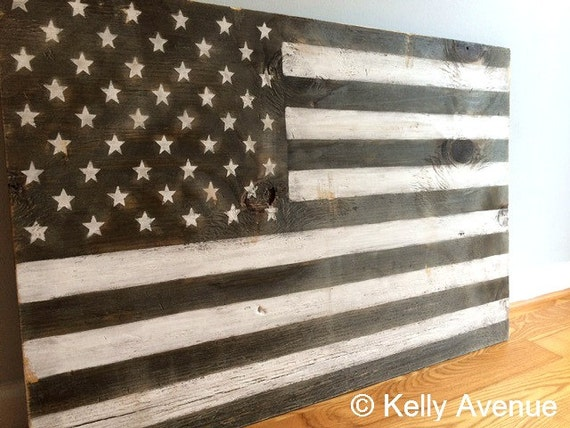 American flag 2x3 ft wood wall art large united by kellyavenue American flag wood wall art