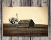 Country Barn - Old Country Farm Landscape - Palouse, WA - Fine Art Photography Print