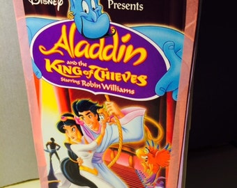 Aladdin vhs journal