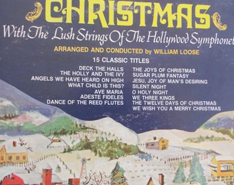 Christmas - Hollywood Symphonette- vinyl record
