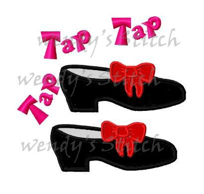 Tap Dance Embroidery Designs