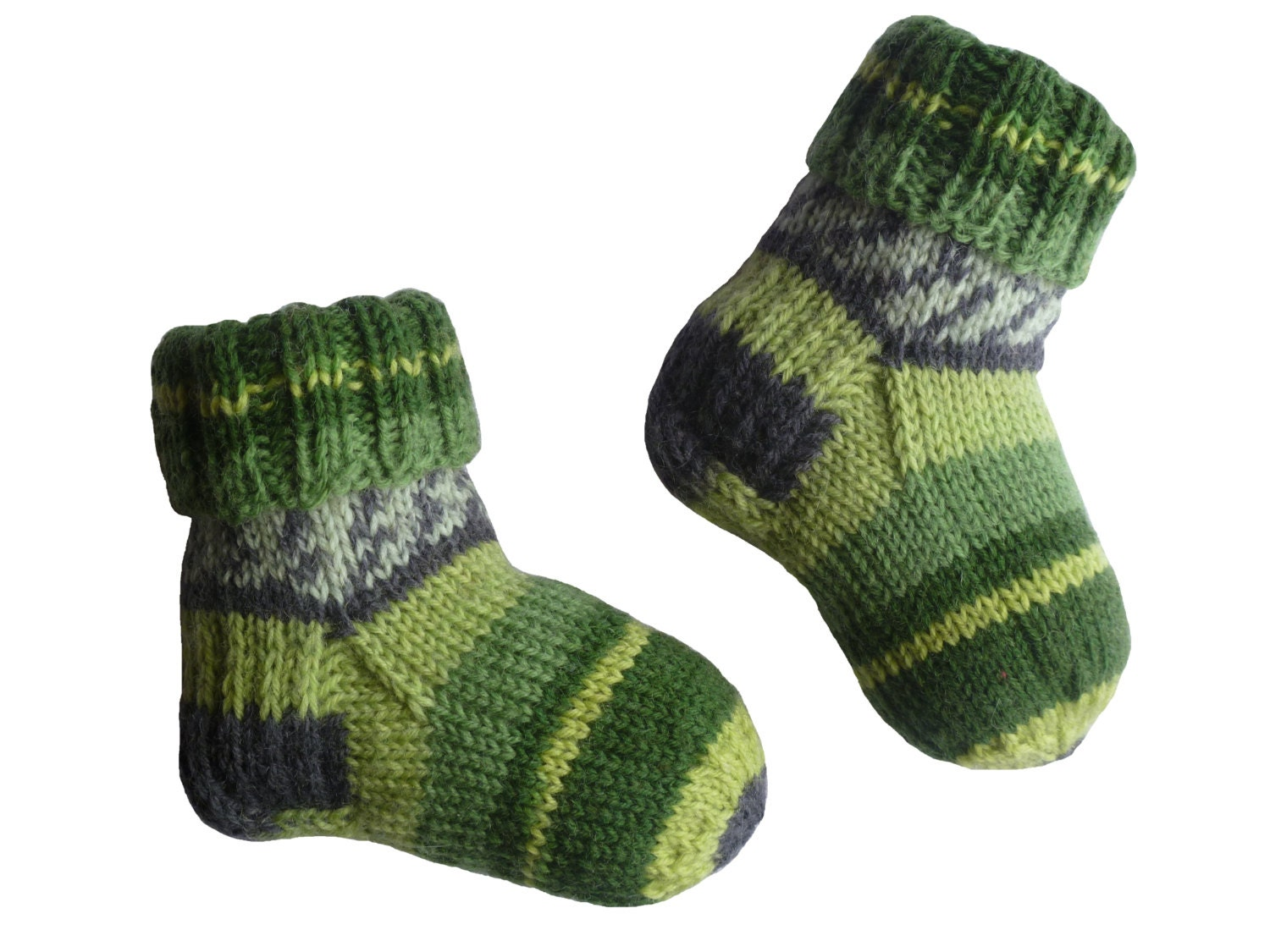 Your baby's feet & legs will never be cold again with these long merino wool socks designed especially for chubby little legs! Plain baby socks with no labels or logos. 1 pair for $14 or 2 for $26!
