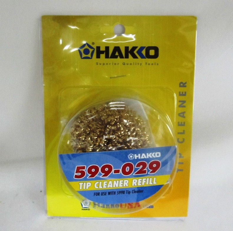 hakko soldering iron tip cleaner refill soldering iron tip. Black Bedroom Furniture Sets. Home Design Ideas