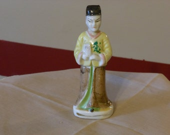 Occupied Japan Asian Male Figurine