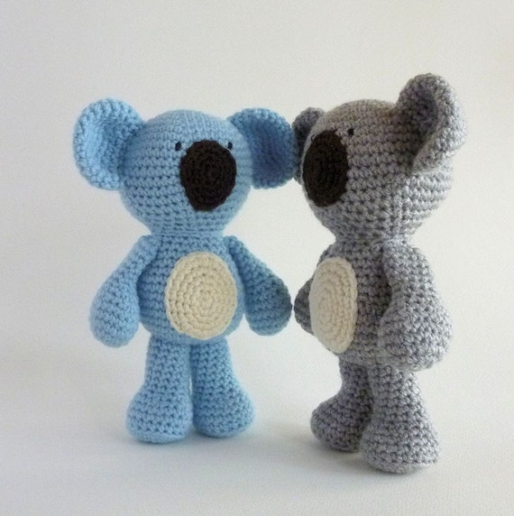 Amigurumi Koala Plush Koala Australian Animal Toy Crochet