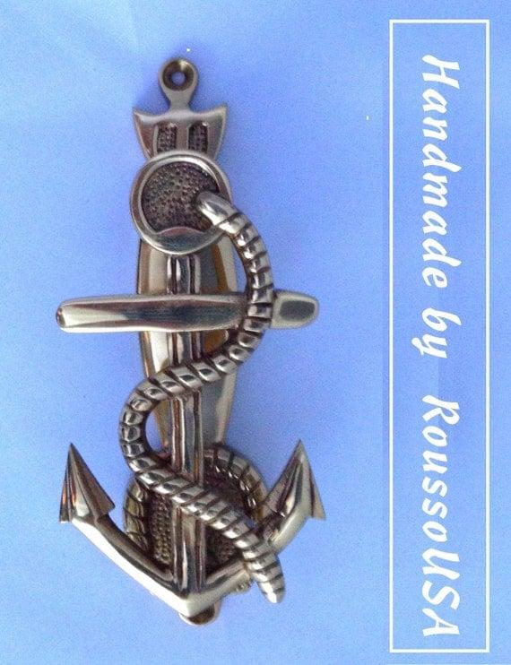 Door Knocker Exceptional Handmade Craftsmanship An Anchor